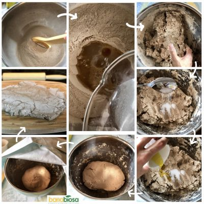 Banana flour pizza dough recipe