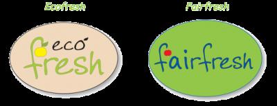 Pegatinas Ecofresh y Fairfresh