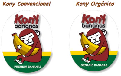 Kony banano pegatinas