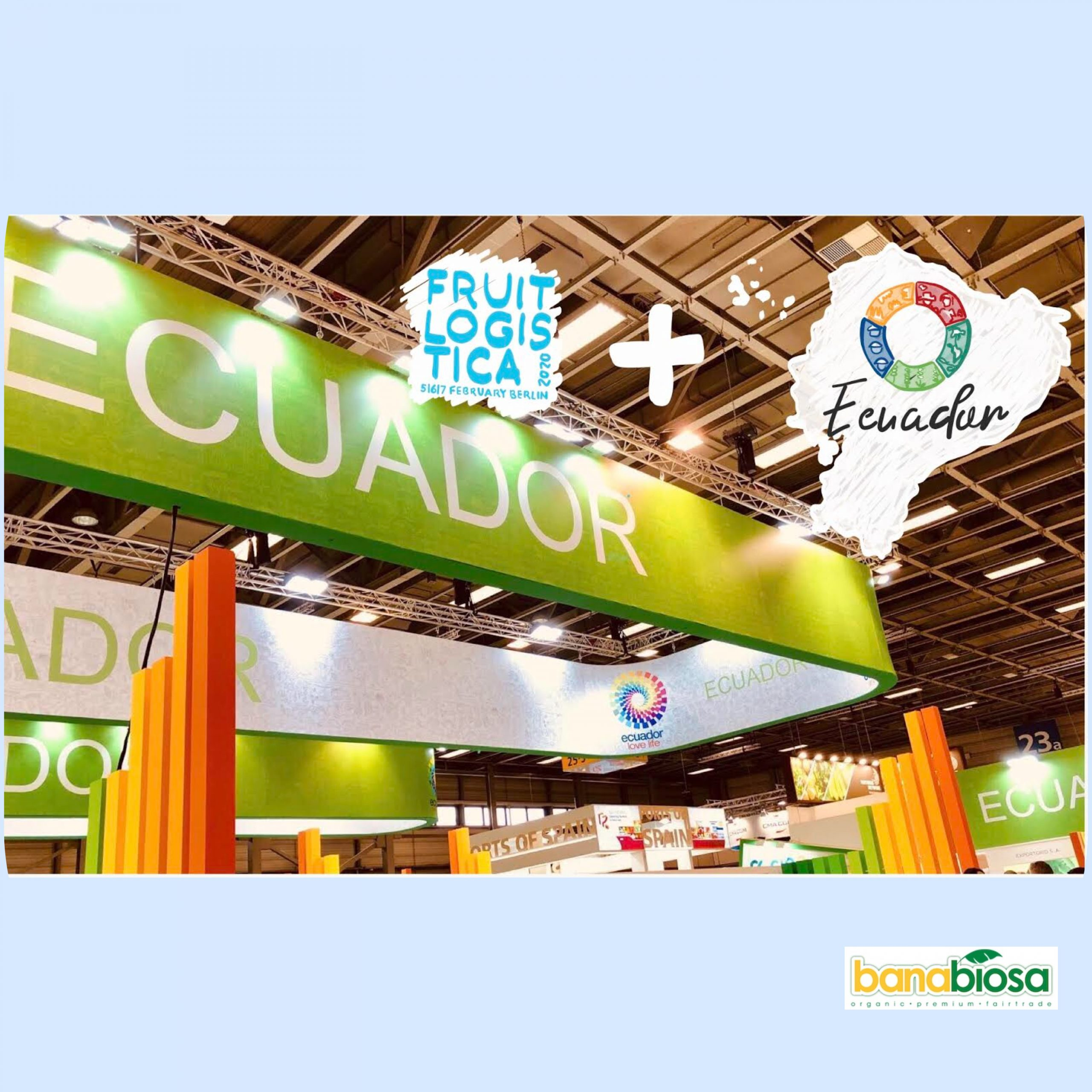 Ecuador Berlin Fruit Logistica 2020