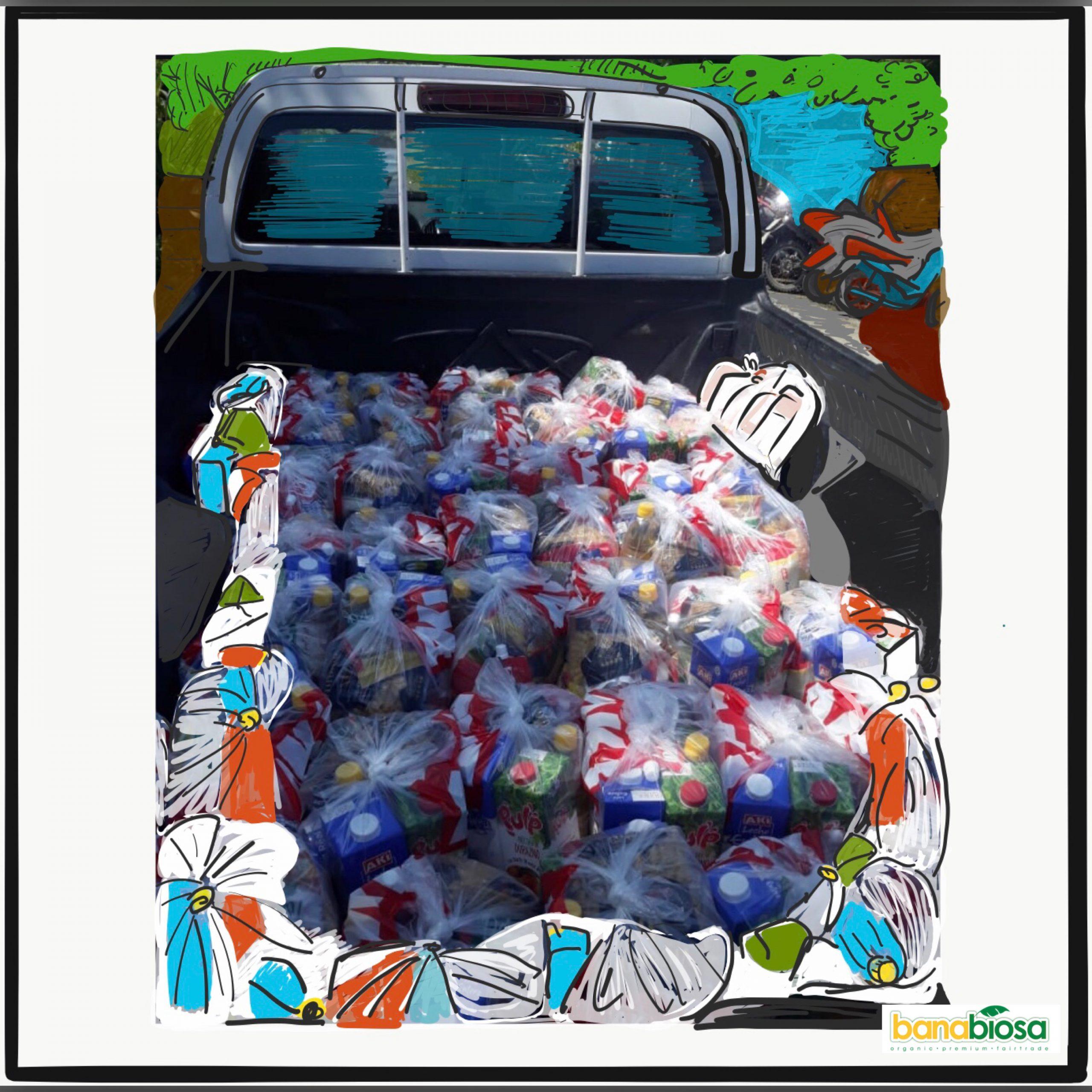 Van of food